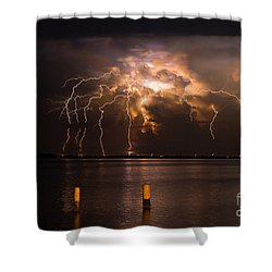 Boiling Energy Shower Curtain