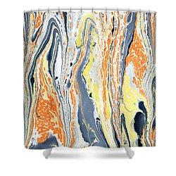 Boiling Lava Shower Curtain