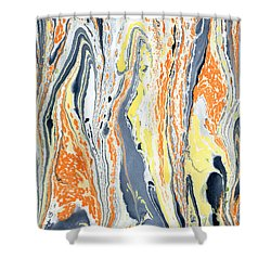 Boiling Lava Shower Curtain