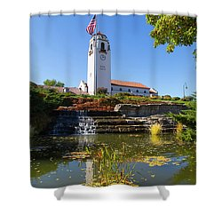 Boise Depot Shower Curtain