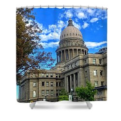 Boise Idaho Capitol Bldg Shower Curtain