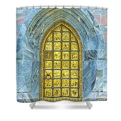 Bok Tower Entrance  Shower Curtain