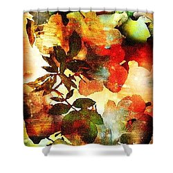 Shower Curtain featuring the photograph Bokeh Blossoms by Robin Regan