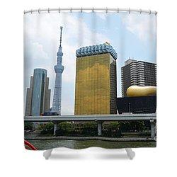 Tokyo Bokutei Dori  Shower Curtain
