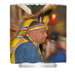 Bold And Proud Shower Curtain