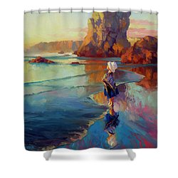 Bold Innocence Shower Curtain