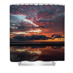 Bold Sunrise Delray Beach Florida Shower Curtain