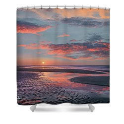 Bolivar Flats, Texas Shower Curtain