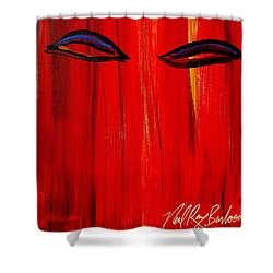 Bollywood Eyes Shower Curtain