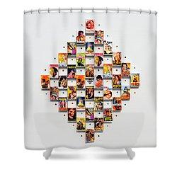 Bollywood On A Mathbox 2 Shower Curtain