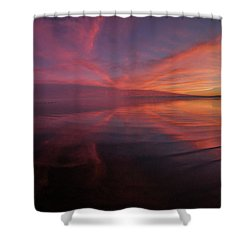 Bombay Beach Shower Curtain