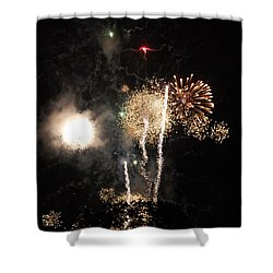 Bombs1 Shower Curtain by David Lane