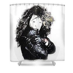 Bon Jovi Shower Curtain by Gina Dsgn