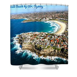 Bondi By Air Shower Curtain