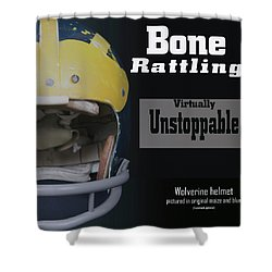 Bone Rattling Virtually Unstoppable Shower Curtain