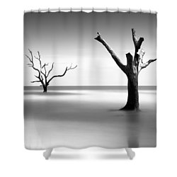 Boneyard Beach V Shower Curtain