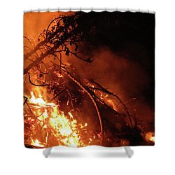 Bonfire Shower Curtain
