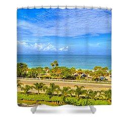 Bonita Beach Shower Curtain