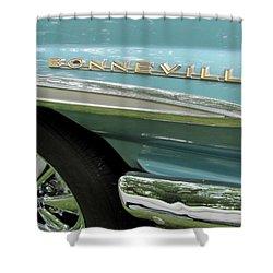 Bonneville Shower Curtain by Anita Burgermeister