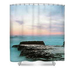 Bonny Doon Shower Curtain by Catherine Lau