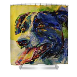 Bonny Shower Curtain by Koro Arandia