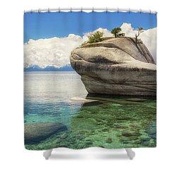 Bonsai Rock Shower Curtain by Marc Crumpler
