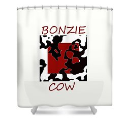 Bonzie Cow Shower Curtain