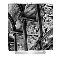 Book Heaven Shower Curtain