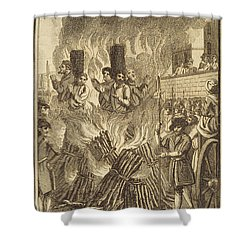 Book Of Martyrs, 1563 Shower Curtain by Granger