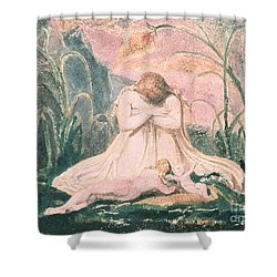 Book Of Thel Shower Curtain by William Blake