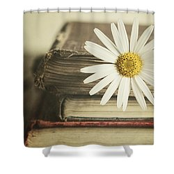 Bookmarked Shower Curtain