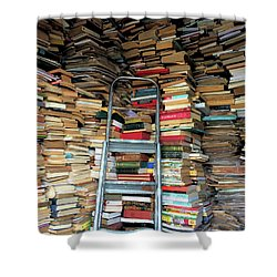 Books For Sale Shower Curtain