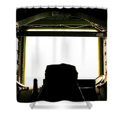 Boom Seat Shower Curtain by David S Reynolds