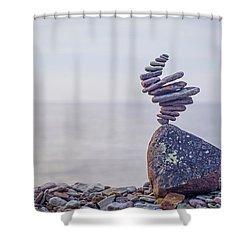 Naturnado Shower Curtain