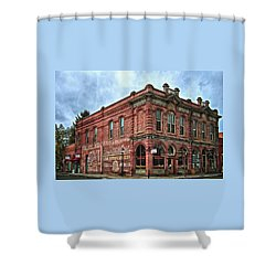 Boomtown Saloon Jacksonville Oregon Shower Curtain
