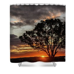 Boorowa Sunset Shower Curtain