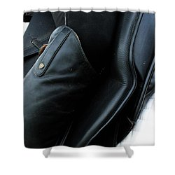 Shower Curtain featuring the photograph Boot Top by Roena King