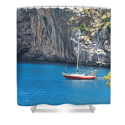 Boot Trip Shower Curtain