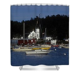 Boothbay Harbor Maine 2 Shower Curtain