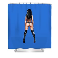 Booty 2 Shower Curtain
