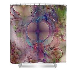 Bootyful Shower Curtain by John Beck