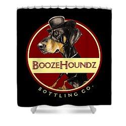 Boozehoundz Bottling Co. Shower Curtain