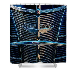 Borchers Ford V8 Shower Curtain