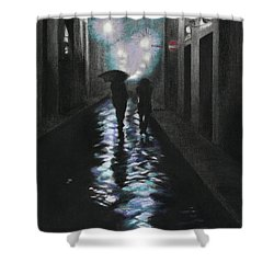 Borgo Degli Albizi Florence Italy Shower Curtain by Kelly Borsheim