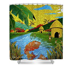 Boriken Shower Curtain