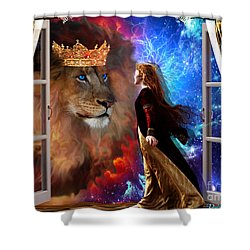 Born For Such A Time Shower Curtain by Dolores Develde