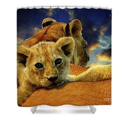 Born Free IIi Shower Curtain