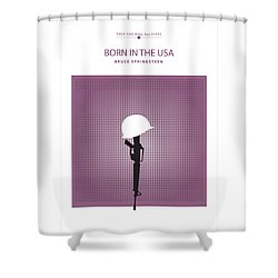 Born In The Usa -- Bruce Springsteen Shower Curtain