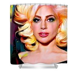 Born This Way, Lady Gaga Shower Curtain