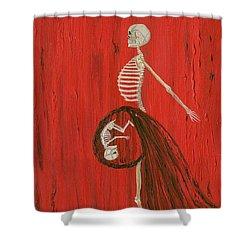 Born To Live E-birth Shower Curtain